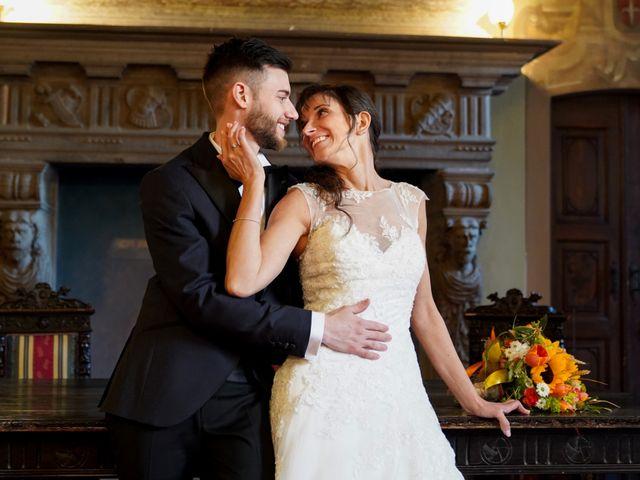 Il matrimonio di Giacomo e Raffaela a Cilavegna, Pavia 45