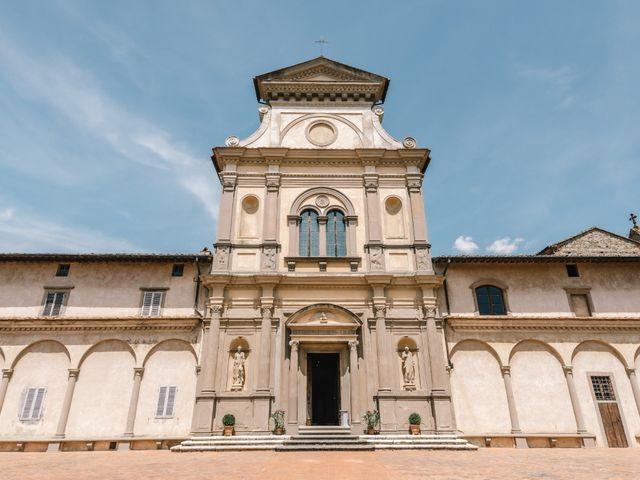 Il matrimonio di Julius e Isaure a Firenze, Firenze 25