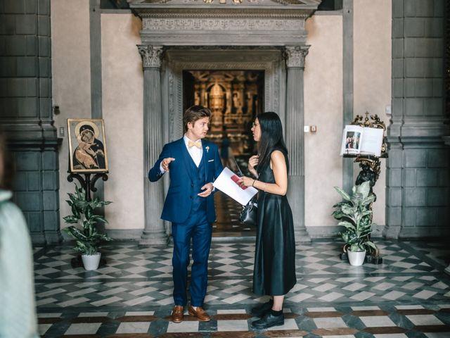 Il matrimonio di Julius e Isaure a Firenze, Firenze 28