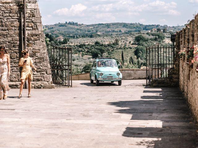 Il matrimonio di Julius e Isaure a Firenze, Firenze 32