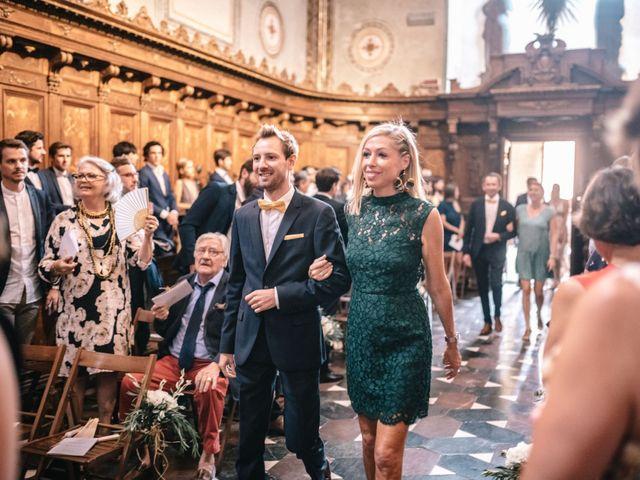 Il matrimonio di Julius e Isaure a Firenze, Firenze 34