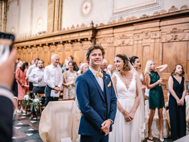 Il matrimonio di Julius e Isaure a Firenze, Firenze 40