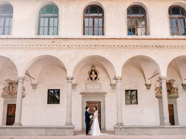 Il matrimonio di Julius e Isaure a Firenze, Firenze 51