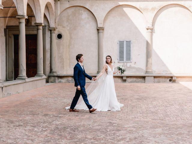 Il matrimonio di Julius e Isaure a Firenze, Firenze 52
