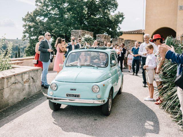 Il matrimonio di Julius e Isaure a Firenze, Firenze 57