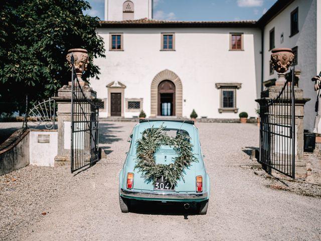 Il matrimonio di Julius e Isaure a Firenze, Firenze 60