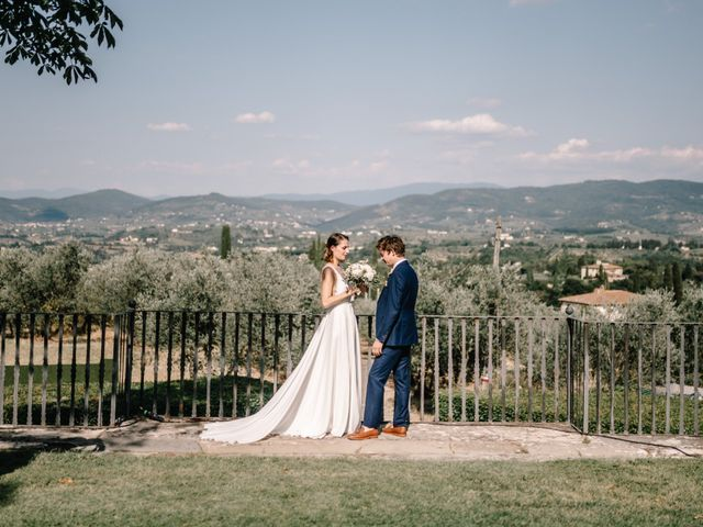 Il matrimonio di Julius e Isaure a Firenze, Firenze 64