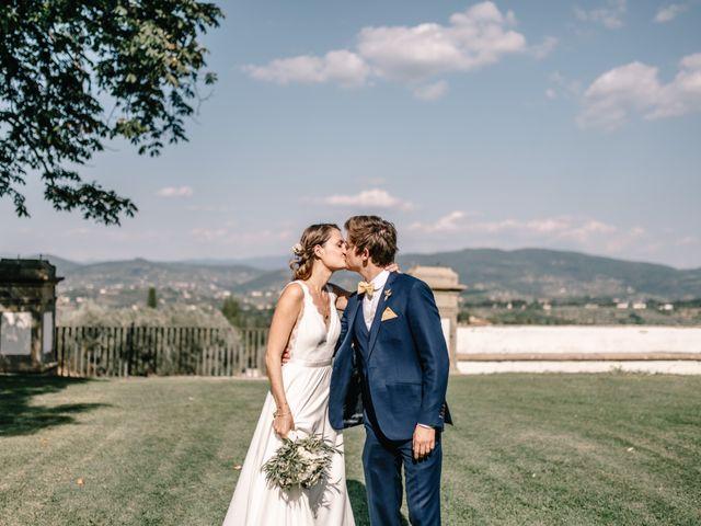 Il matrimonio di Julius e Isaure a Firenze, Firenze 66