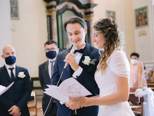Il matrimonio di Francesco e Valeria a Treville, Alessandria 20
