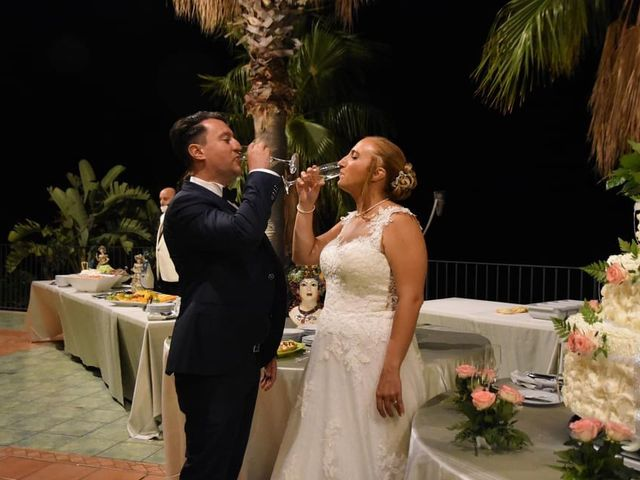 Il matrimonio di Lazzaro e Elvira a Taormina, Messina 1