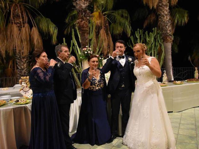 Il matrimonio di Lazzaro e Elvira a Taormina, Messina 3