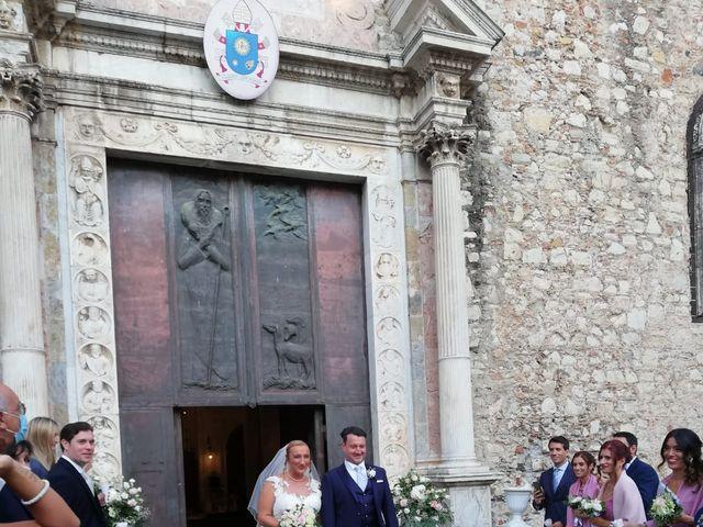 Il matrimonio di Lazzaro e Elvira a Taormina, Messina 12