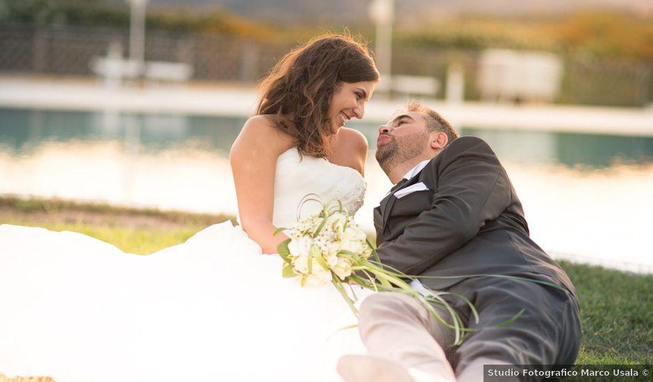 Il matrimonio di Luigi e Monica a Budoni, Sassari