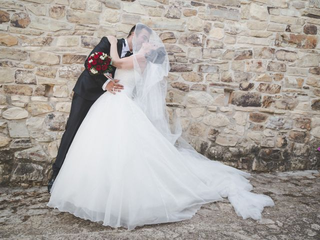 le nozze di Melina e Daniele