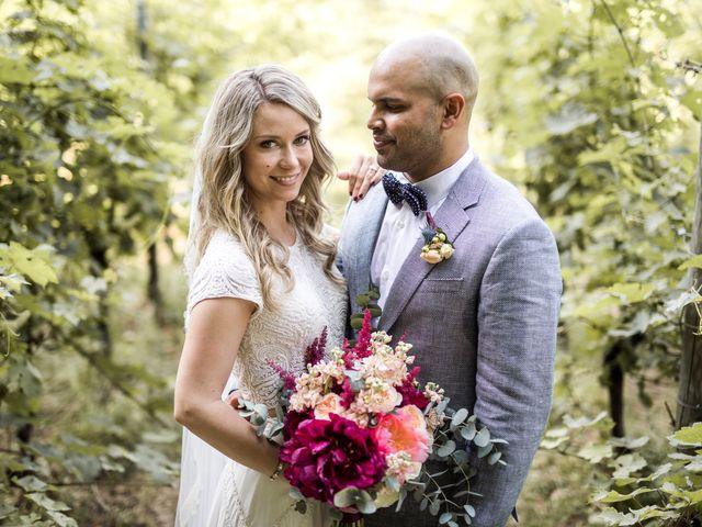 Le nozze di Arjun e Sara
