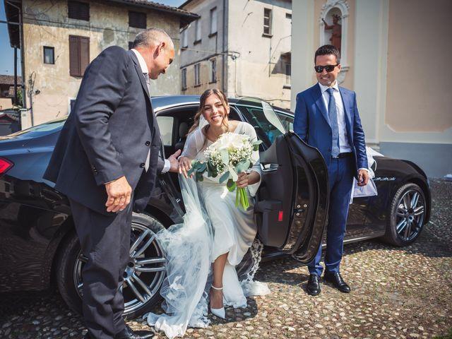 Il matrimonio di Andrea e Beatrice a Gropello Cairoli, Pavia 34