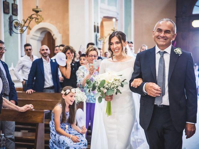 Il matrimonio di Andrea e Beatrice a Gropello Cairoli, Pavia 35