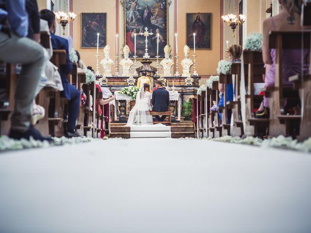 Il matrimonio di Andrea e Beatrice a Gropello Cairoli, Pavia 40