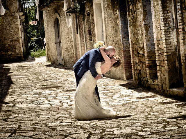 Il matrimonio di Mattia e Danielle a Apice, Benevento 1
