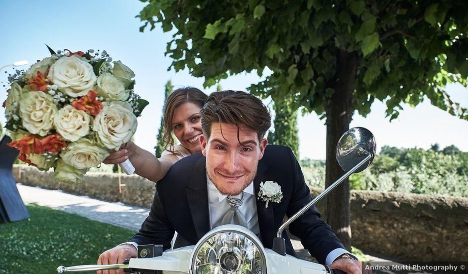 Il matrimonio di Simone e Monica a Corte Franca, Brescia