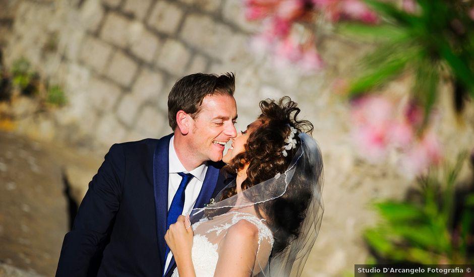 Il matrimonio di GIANLUCA e VANNA a Vico Equense, Napoli