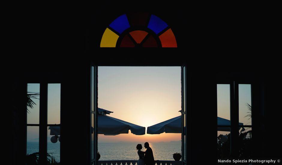 Il matrimonio di Gabriele e Francesca a Vico Equense, Napoli