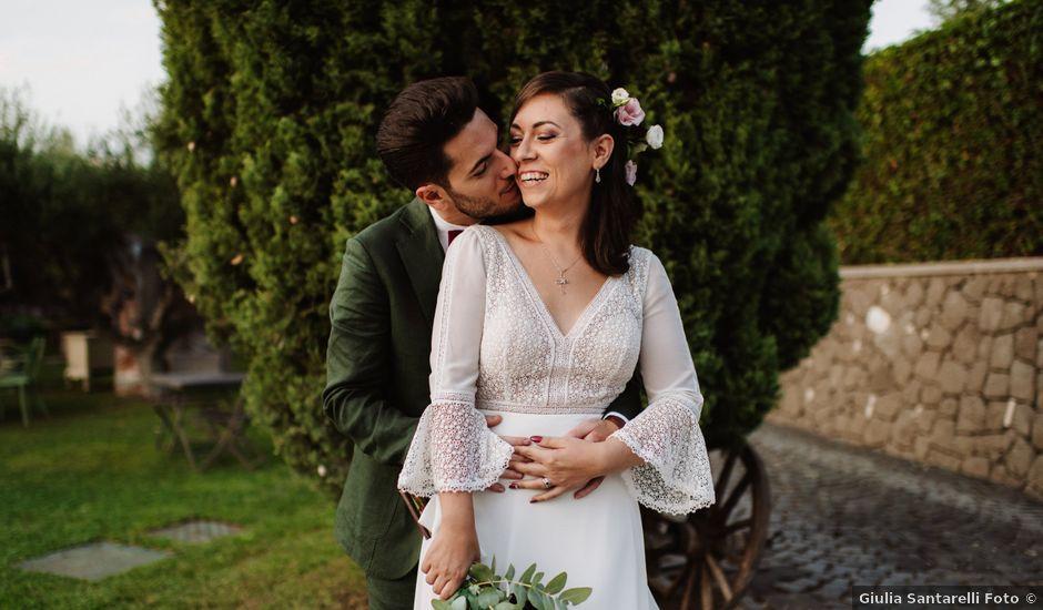 Il matrimonio di Adriano e Elena a Roma, Roma