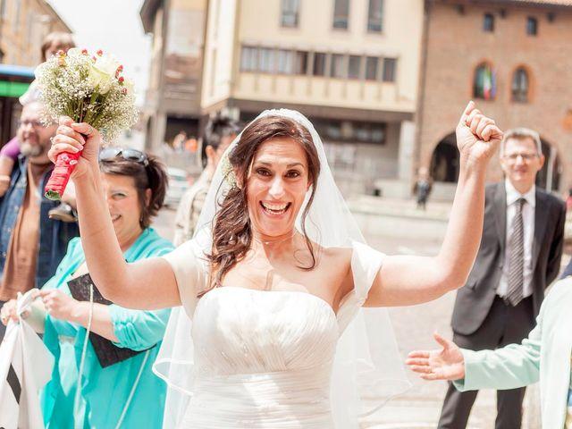 Il matrimonio di Marco e Claudia a Melegnano, Milano 57