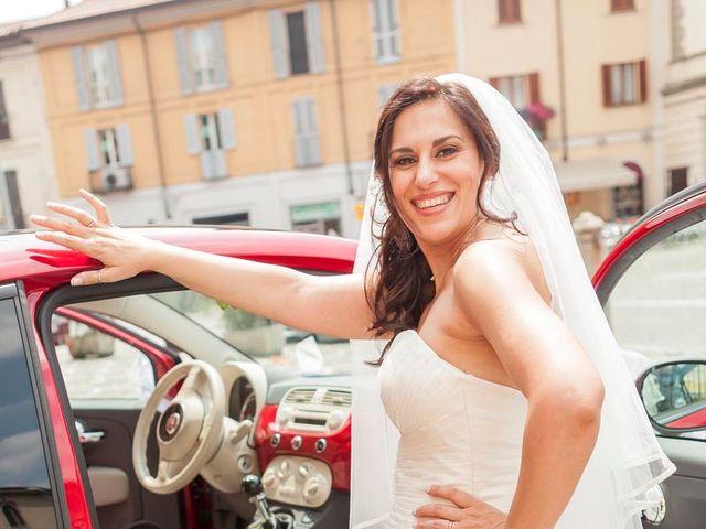 Il matrimonio di Marco e Claudia a Melegnano, Milano 77