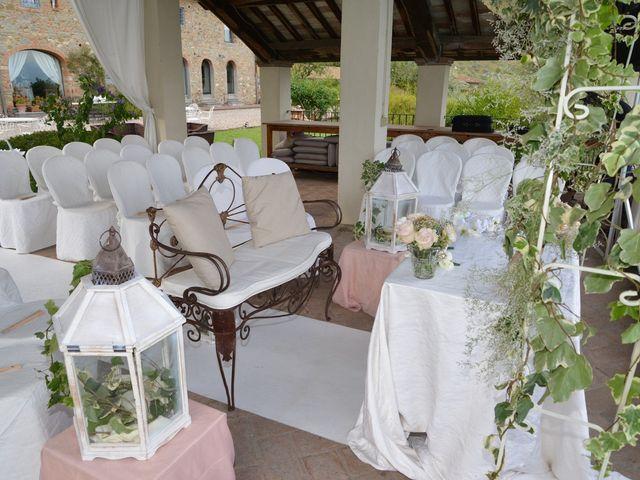 Il matrimonio di Nicola e Ambra a Carmignano, Prato 10