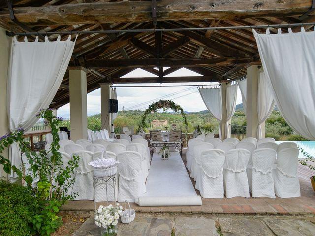 Il matrimonio di Nicola e Ambra a Carmignano, Prato 20