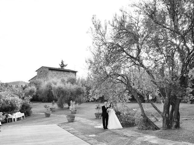 Il matrimonio di Nicola e Ambra a Carmignano, Prato 37