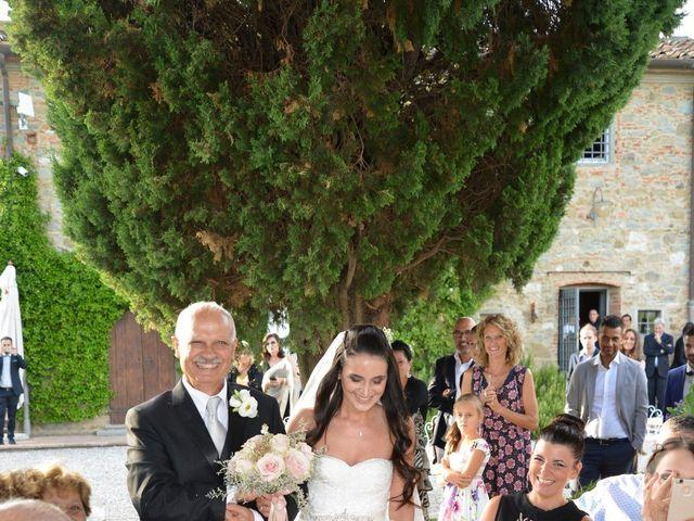 Il matrimonio di Nicola e Ambra a Carmignano, Prato 38