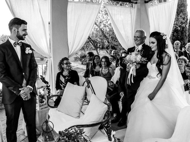 Il matrimonio di Nicola e Ambra a Carmignano, Prato 39