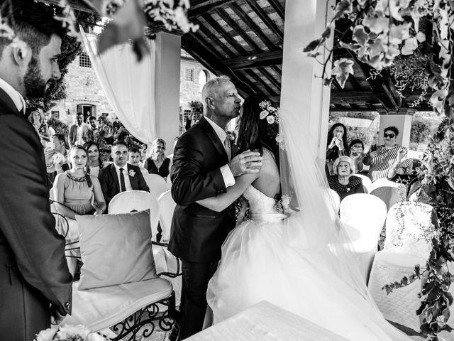 Il matrimonio di Nicola e Ambra a Carmignano, Prato 40