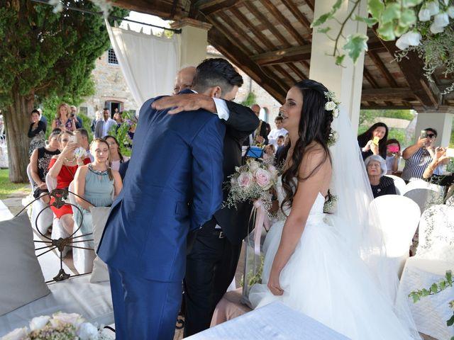 Il matrimonio di Nicola e Ambra a Carmignano, Prato 41