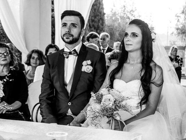 Il matrimonio di Nicola e Ambra a Carmignano, Prato 44