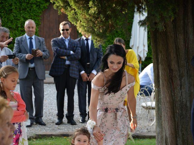 Il matrimonio di Nicola e Ambra a Carmignano, Prato 48