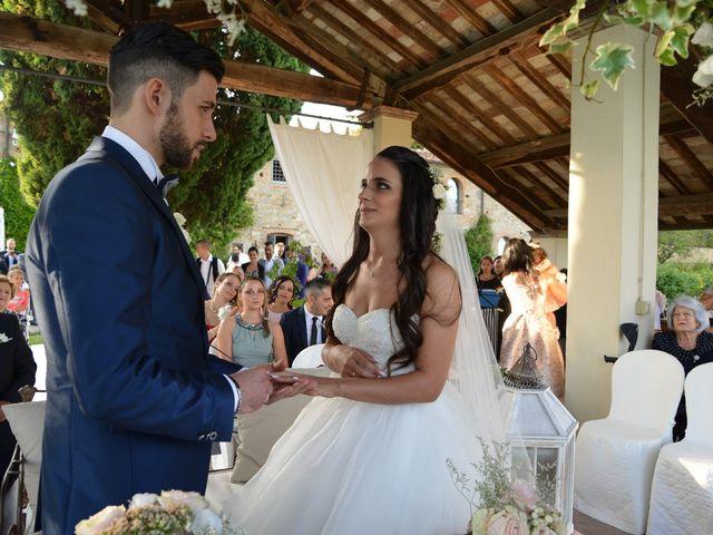 Il matrimonio di Nicola e Ambra a Carmignano, Prato 56