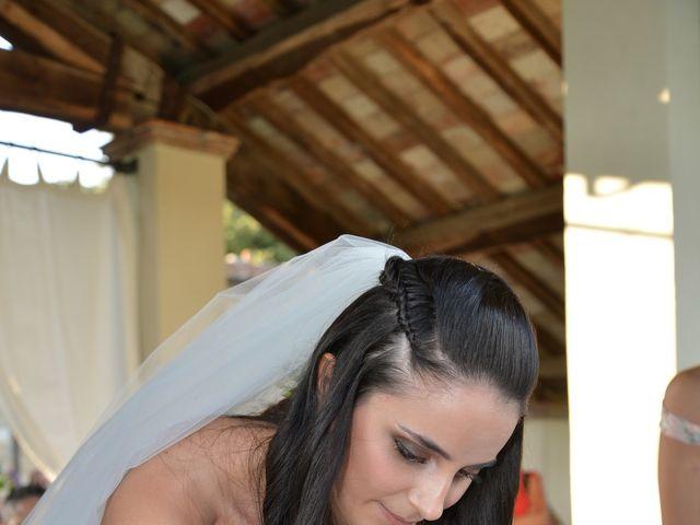 Il matrimonio di Nicola e Ambra a Carmignano, Prato 58
