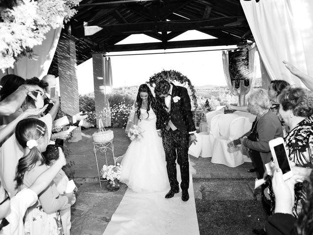 Il matrimonio di Nicola e Ambra a Carmignano, Prato 73