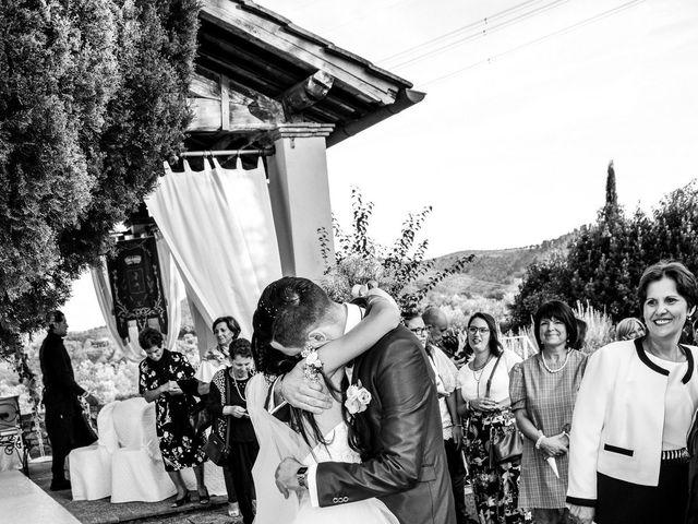 Il matrimonio di Nicola e Ambra a Carmignano, Prato 75