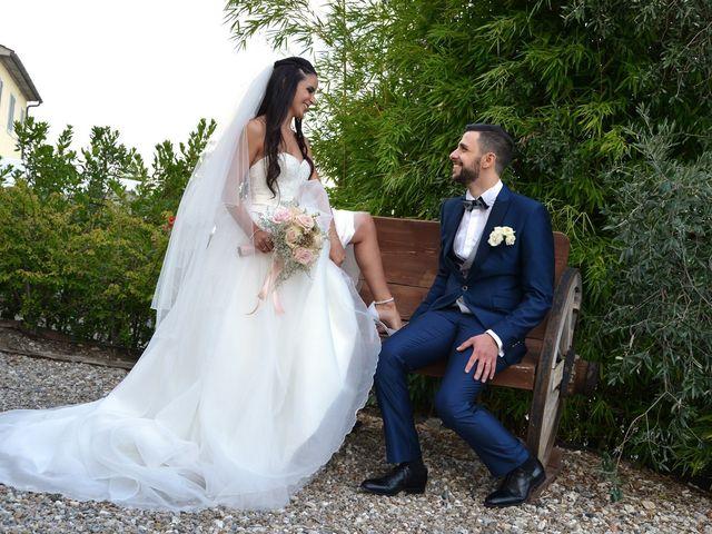 Il matrimonio di Nicola e Ambra a Carmignano, Prato 88