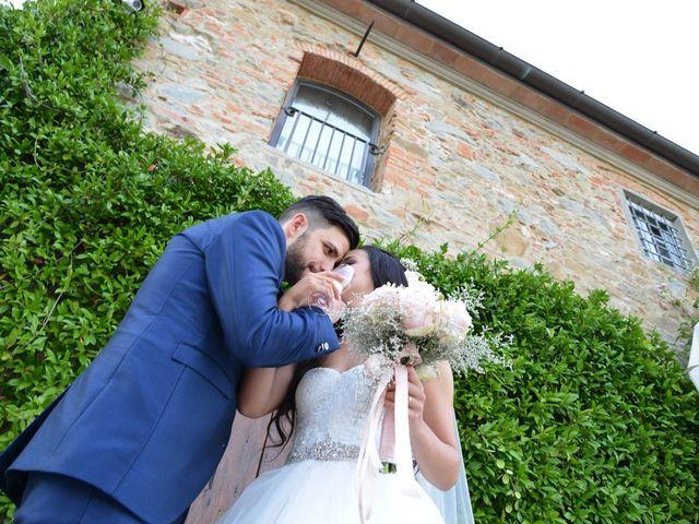 Il matrimonio di Nicola e Ambra a Carmignano, Prato 92