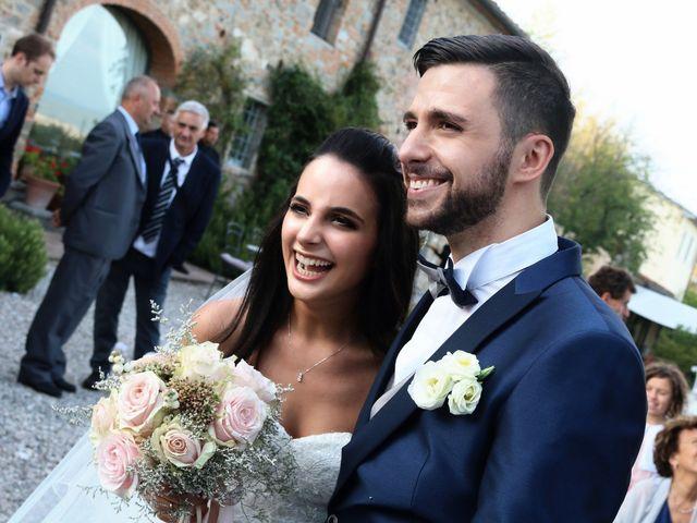 Il matrimonio di Nicola e Ambra a Carmignano, Prato 109