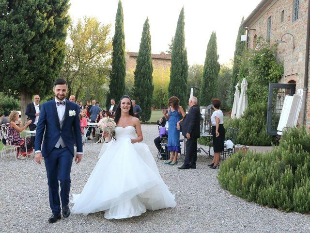 Il matrimonio di Nicola e Ambra a Carmignano, Prato 111