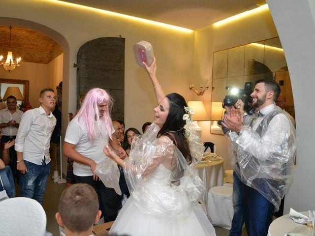 Il matrimonio di Nicola e Ambra a Carmignano, Prato 122