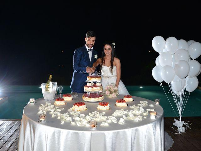 Il matrimonio di Nicola e Ambra a Carmignano, Prato 126