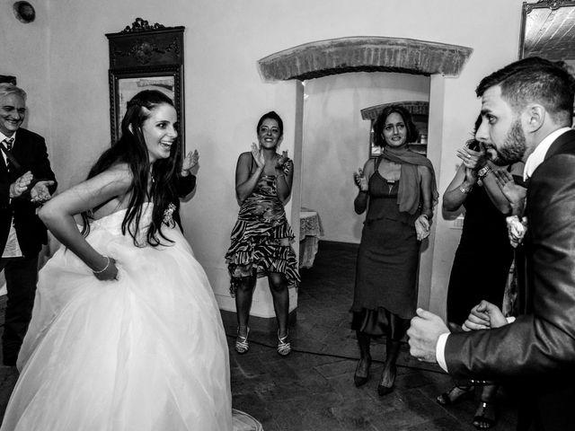 Il matrimonio di Nicola e Ambra a Carmignano, Prato 133
