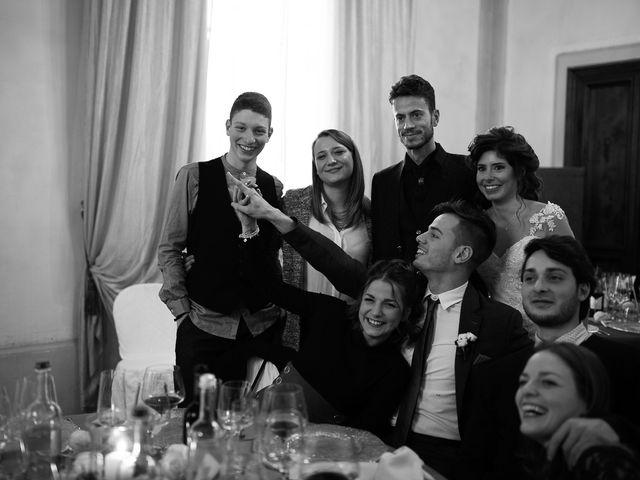 Il matrimonio di Simone e Alessia a Pistoia, Pistoia 110